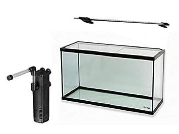 RADYS Acuario PECERA 20 litros con Filtro Y LUZ LED: Amazon.es: Productos para mascotas