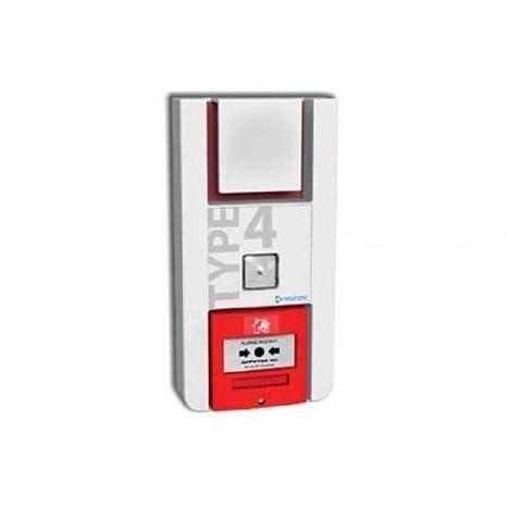 Alarma Type 4 A Pilas Flash Luminoso para Etablissement ...