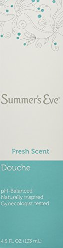 Summer's Eve Douche Fresh Scent 4.5 Fl Oz /133 Ml, Pack of 6
