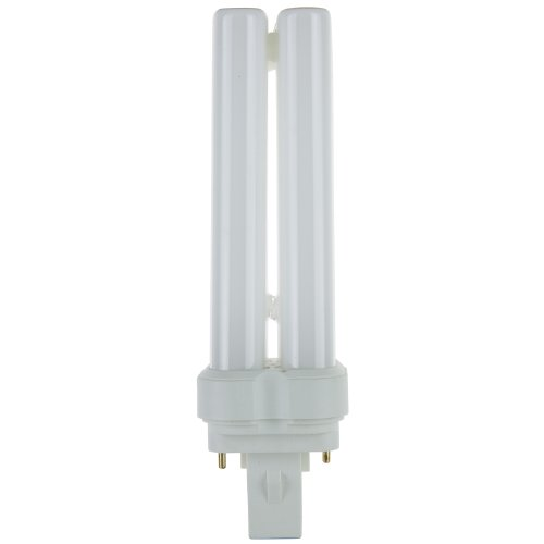 2 Pin Base Quad (Sunlite 05765-SU FDL28/50K 28-watt FDL 2-Pin and 4-Pin Quad Tube Compact Fluorescent Plug-in GX32D-2 Base Light Bulb, Super White)