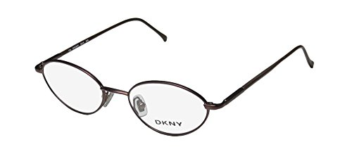 DKNY 6218 Mens/Womens Vision Care European Style Designer Full-rim Flexible Hinges Eyeglasses/Eye Glasses (50-18-140, Matte - Dkny Goggles