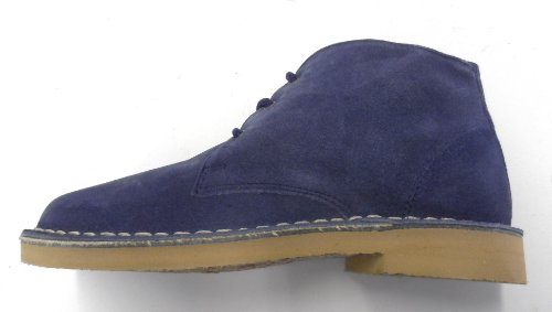 Roamers 3 Eye Lightweight Desert Ladies Boots Blue Pastel Blue KujXdaEg