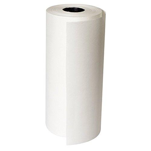 "Quality Paper White Butcher Roll, 12"" L"