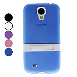 Fashionable Soft Case with Stand for Samsung Galaxy S4 I9500 (Assorted Color) , Pink