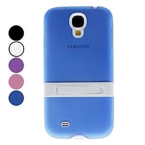 CL - Funda de moda con soporte para Samsung Galaxy S4 i9500 (colores surtidos) , Púrpula