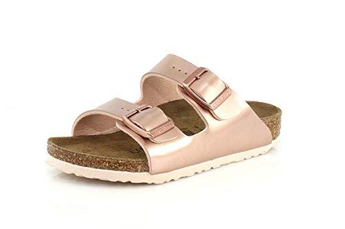 Birkenstock Kids Arizona Copper Sandal – 34 NAR