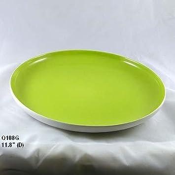Set Of 2 Mint Plate