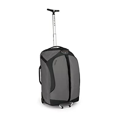 Osprey Ozone Wheeled Luggage (22-Inch/46 Liter, Light Grey)