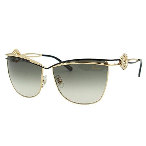 Chopard Palme Verte SCH B26S 301 Women Gold Square Pantos Embellished - Pantos Sunglasses