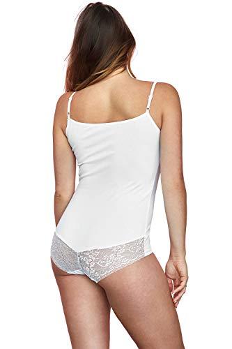 BDV 137 Femminile Classico Uniforme Vestiva Bianco XL Body BvUIww