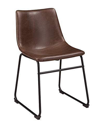 Terrific Amazon Com Faux Leather Dining Chair With Black Metal Legs Cjindustries Chair Design For Home Cjindustriesco