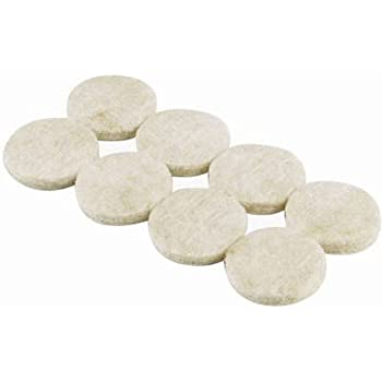 Slipstick Cb013 1 Inch Round Heavy Duty Felt Pads With