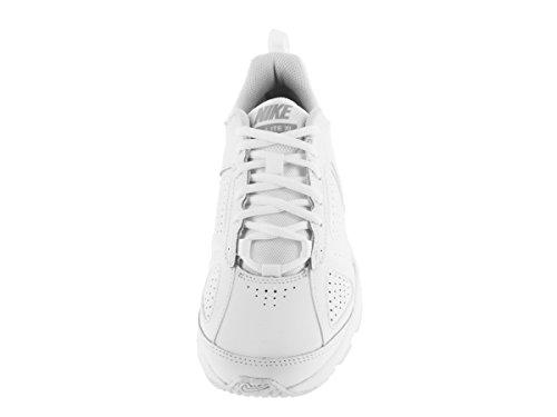 Nike Damen T-Lite Xi Low Top Schnürschuhe für Damen Weiß / Metallic Slvr / Pr Pltnm / Blk