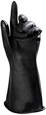 Negro MAPALAR PROFESIONAL Butoflex651 Talla 7 Guantes Paquete de 2