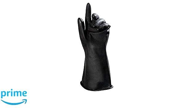 Paquete de 2 Negro MAPALAR PROFESIONAL Butoflex651 Talla 8 Guantes