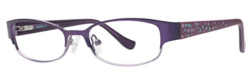 Darling Eyeglasses - kensie DARLING Plum Eyeglasses Size46-15-125.00