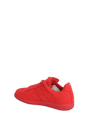 Margiela Mujer Lana Zapatillas S39ws0008s48434309 Maison Rojo 6qUwdqB