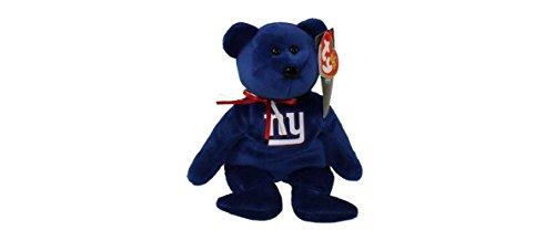 NFL New York Giants TY Beanie Baby Teddy Bear Plush 8.5
