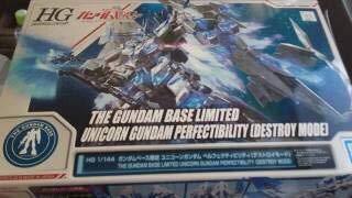 (Bandai 1/144 HG RX - 0 Unicorn Gundam Perfectibility Destroy)