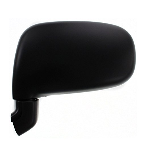 1991 1992 1993 1994 1995 1996 1997 Toyota Previa Van Manual Folding Smooth Black Rear View Mirror Left Driver Side (91 92 93 94 95 96 97) (Toyota Mirror Previa Van)