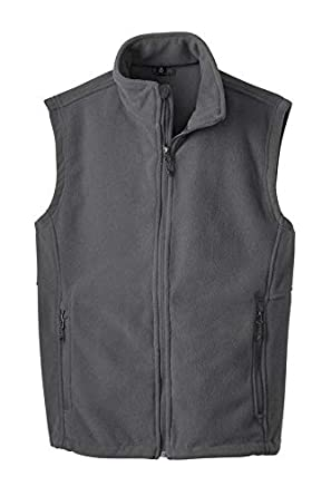 Mens Polar Fleece Vest with Pockets Clothe Co