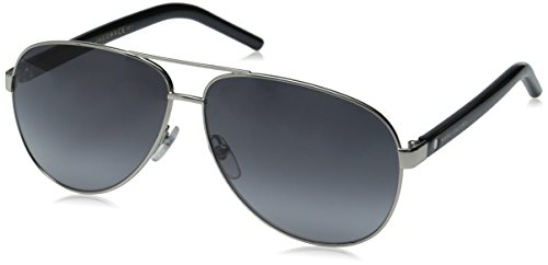 Marc Jacobs Women's Marc71s Aviator Sunglasses, Palladium/Gray Gradient, 60 - Aviators Marc Jacob