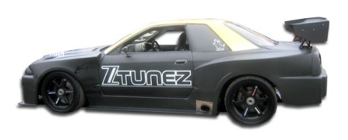(Duraflex Replacement for 1989-1994 Nissan Skyline 2DR R32 R34 GTR500 Conversion Side Skirts Rocker Panels - 2 Piece)