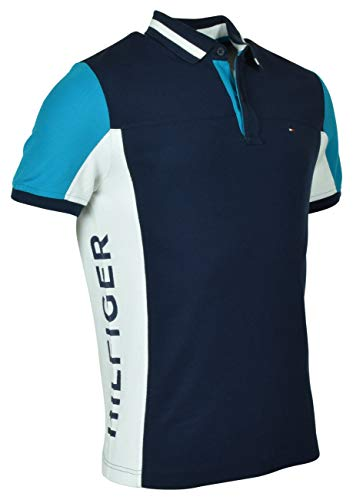 1f8ff94ec Tommy Hilfiger Men s Regular Fit Performance Pique Polo Shirt ...
