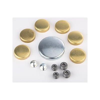 JEGS 58008 Brass Freeze Plug Kit: Automotive