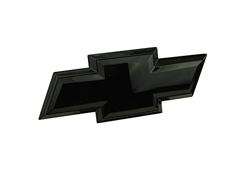 2007-2013 Silverado Tailgate Emblem Licensed LED Light Bowtie Logo Black -