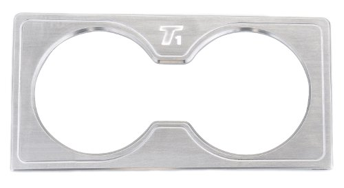 T-Rex 11960 T1 Series Billet Brushed Interior Center Console Cup Holder