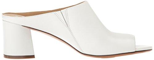 Naturalizer Women's Cyprine Slide Sandal White Nbnq8b