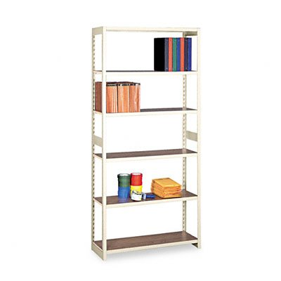 (Tennsco Regal Shelving Starter Set, Six-Shelf, 36w x 15d x 76h,)