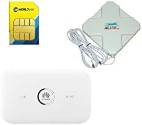 Huawei E5573, Antena y SIM – viajes, vacaciones Internet SET ...