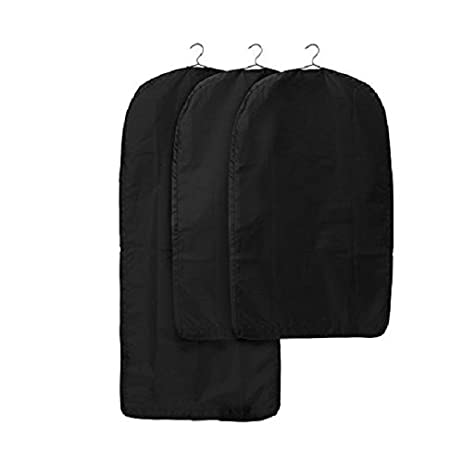 Ikea Skubb Garment Bag Set Of 3 Closet Clothes Covers Travel Storage 4  Colors (Black