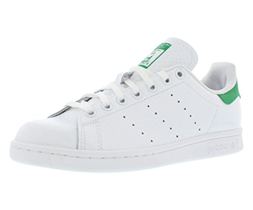 adidas Stan Smith W Ladies (Honeycomb Pack) in White/Green by, 10 - Adidas Womens Honey