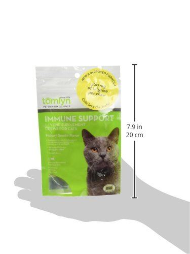 Tomyln-Immune-Support-L-Lysine-Supplement-Chews-for-Cats-30-ct