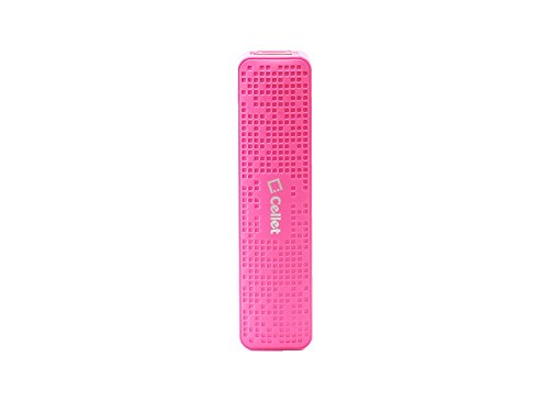 2000Ma Portable Auxiliary Power Bank Pink Compatible with BlackBerry Classic