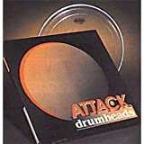 ATTACK DHTS2-12 2-Ply Medium Thin Clear Percussion Effect