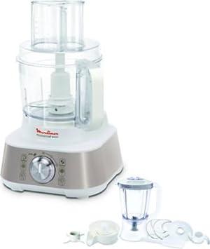Moulinex Masterchef 8000 1000W 3L Metálico - Robot de cocina (3 L, Metálico, Giratorio, Vidrio, Acero inoxidable, 1000 W): Amazon.es: Hogar