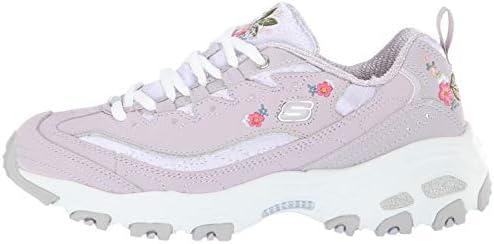 Lites-Bright Blossoms Sneaker, Lavendar