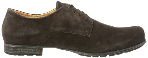 Think Denk, Scarpe Stringate Derby Donna Marrone (Espresso 41)