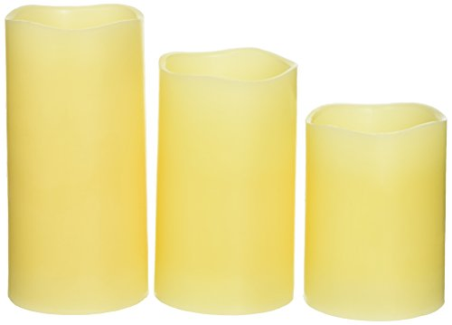 Amazon.com: Glow Candles Real Wax Flameless Candles with ...