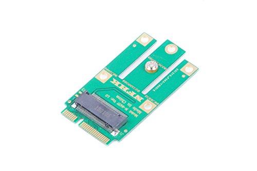 - M.2 NGFF KEY B to Mini PCI-E Adapter for WWAN, CDMA,LTE, GPS card