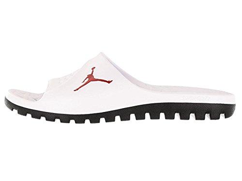 3fcfe828efb80 Nike Jordan Men's Jordan Super.Fly Team Slide White/Gym Red/Black Sandal