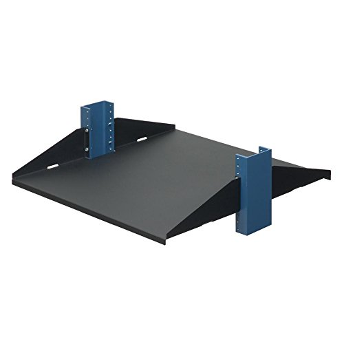 RackSolutions 20'' 2Post Shelf, Solid, Flanges Up by RACKSOLUTIONS