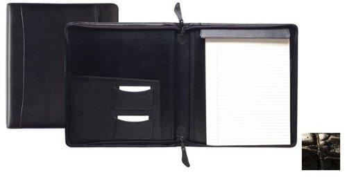 Raika NI 143 BLK Standard Zipper Writing Pad - Black by Raika