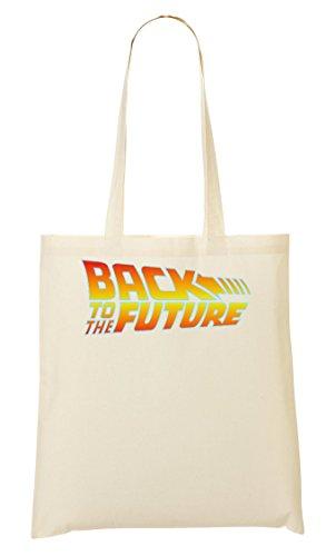 Back To The Future Logo Bolso De Mano Bolsa De La Compra