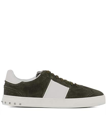 Verde Sneakers Camoscio VALENTINO GARAVANI QY2S0A08LAR0GZ Uomo 4SwxZqX