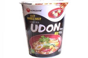 Cup Noodle Soup (Tempura Udon Flavor) - 2oz (Pack of 1)